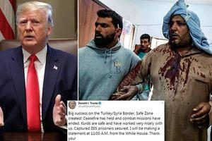 Thổ tuyên bố 'ngừng bắn vĩnh viễn' ở Syria, ông Trump liền dỡ bỏ trừng phạt