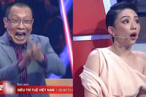 Nhà báo Lại Văn Sâm, Tóc Tiên ngỡ ngàng trước các 'siêu trí tuệ Việt'
