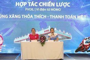 PVOIL và ví MOMO ký kết hợp tác chiến lược