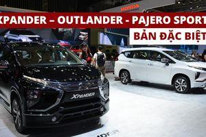 Soi chi tiết bộ 3 phiên bản đặc biệt Xpander, Outlander, Pajero Sport