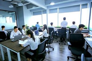 Thị trường co-working tăng trưởng nhanh tại Việt Nam