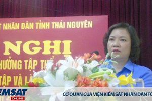 Người Đảng viên 'Mẫu mực, chuyên tâm, tận tụy với công việc' của ngành Kiểm sát tỉnh Thái Nguyên