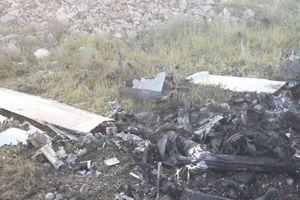 Khoảnh khắc máy bay không người lái của Israel bị bắn hạ gần biên giới Lebanon