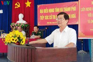 'Xin nhận khuyết điểm với cử tri vì để tỉnh Khánh Hòa mắc sai phạm'
