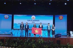 Nền tảng học tập trực tuyến Hocmai.vn giành giải Bạc ở Asean ICT Awards 2019