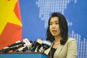 Yêu cầu các bên liên quan tôn trọng chủ quyền Việt Nam