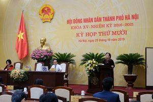 Tập trung theo dõi, giám sát việc triển khai thực hiện các nghị quyết của HĐND TP Hà Nội