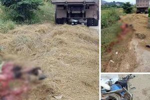 Bắc Giang: Kinh hoàng tài xế xe chở than cán nát người đi đường rồi bỏ chạy