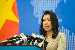 Việt Nam xác nhận tàu Hải Dương 8 rút khỏi EEZ
