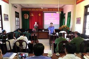 VKSND huyện Gò Công Đông tọa đàm, trao đổi kinh nghiệm về giải quyết án hình sự