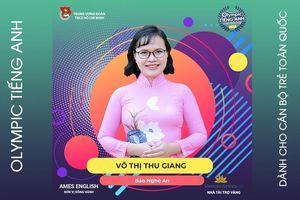 Phóng viên Báo Nghệ An tham dự chung kết Olympic Tiếng Anh dành cho cán bộ trẻ toàn quốc 2019