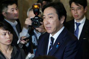 Bộ trưởng Thương mại Nhật Bản từ chức vì tặng... hải sản, dưa đắt tiền cho cử tri