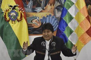 Tổng thống Bolivia Evo Morales chính thức tái đắc cử