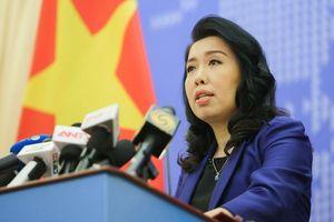 Bộ Ngoại giao xác nhận tàu Hải Dương 8 rút khỏi EEZ Việt Nam