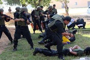 'Quả đấm thép' bảo đảm an ninh trật tự khu vực phía Nam Tổ quốc