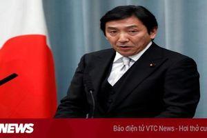 Bộ trưởng Thương mại Nhật Bản Isshu Sugawara từ chức vì bê bối đưa tiền cho cử tri