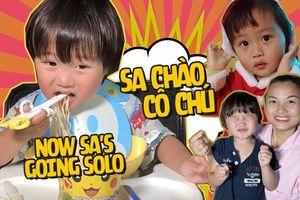 Hóa ra bé Sa - idol nhí hot nhất hiện nay cũng sở hữu 1 channel Youtube 150k người theo dõi, review ăn uống chuyện nghiệp chẳng kém mẹ