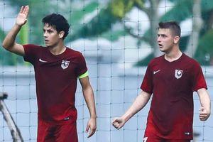Cú lốp bóng tung lưới U19 Việt Nam của Sarajevo