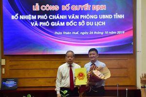 Bổ nhiệm ông Phan Lê Hiến làm Phó Chánh Văn phòng UBND tỉnh Thừa Thiên – Huế
