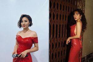 Soi gu thời trang của Văn Mai Hương ngày càng gợi cảm