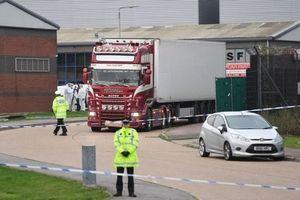 Cảnh sát Anh kêu gọi không suy đoán danh tính của 39 nạn nhân thiệt mạng trong container