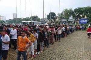 'Khán đài trống dành cho CĐV Thái Lan!'