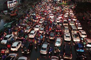 Hà Nội tiếp tục 'khởi động' đề án cấm xe máy và thu phí ô tô vào nội đô