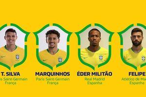 CHÍNH THỨC: Brazil chốt danh sách đấu Argentina