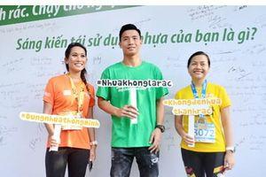 'Cô gái tỷ đô' thi chạy Marathon kêu gọi bảo vệ môi trường không rác thải nhựa