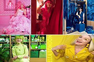 Cuộc sống thú vị của những quý cô 'cuồng' một màu sắc