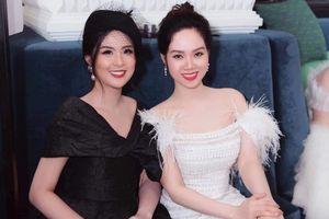 Hoa hậu Mai Phương trong lần hiếm hoi xuất hiện