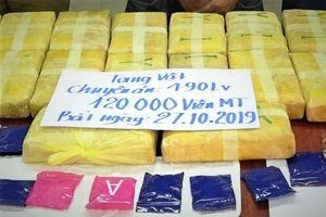 Bắt người nước ngoài đưa 120.000 viên ma túy vào Việt Nam
