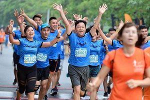 Lan tỏa thông điệp bảo vệ môi trường qua giải chạy Longbien Marathon