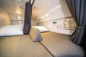'Đột nhập' nơi nghỉ ngơi bí mật của phi hành đoàn trên chuyến bay dài nhất thế giới