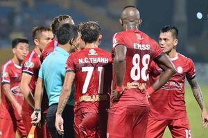 'Trọng tài bỏ hai lỗi khi cầu thủ Hà Nội ghi bàn vào lưới TP.HCM'