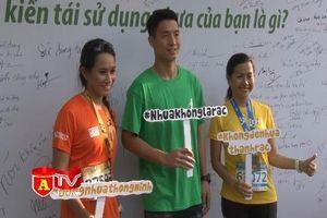 Doanh nhân Trần Uyên Phương chạy Marathon kêu gọi bảo vệ môi trường