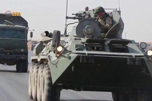 Thêm đoàn quân Nga được tăng cường triển khai tới biên giới Syria – Thổ Nhĩ Kỳ
