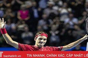 Federer rút lui khỏi Paris Masters