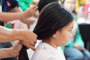 Hơn 300 bộ tóc hiến tặng 'thư viện tóc giả' giúp nữ bệnh nhân ung thư