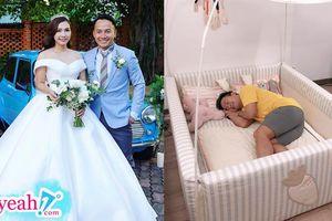 Vợ rapper Tiến Đạt đã sinh con gái đầu lòng?