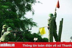 Cán bộ, chiến sĩ đảo Nẹ thực hiện tốt nhiệm vụ huấn luyện và sẵn sàng chiến đấu