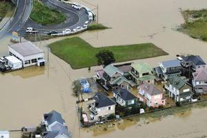 Bão Bualoi hoành hành tại Nhật Bản, gây hư hại hơn 3.200 ngôi nhà