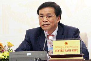 Bộ trưởng Nội vụ được 85% đại biểu Quốc hội yêu cầu chất vấn