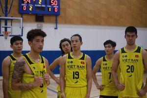 Hé lộ lịch thi đấu của đội tuyển bóng rổ Việt Nam trên đất Malaysia