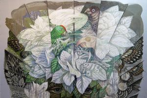 Lần đầu tiên, các nghệ sĩ tiêu biểu hàng đầu châu Á bày tranh tại Hà Nội