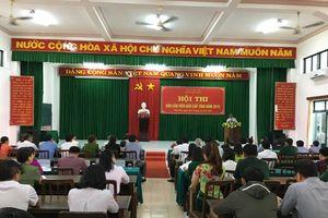 Phú Yên: Khai mạc hội thi báo cáo viên giỏi cấp tỉnh