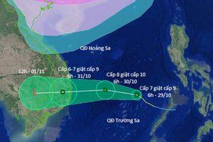 Cơn bão Con voi kinh hoàng 'sắp trở lại' Nam Trung bộ