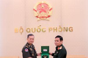 Góp phần quan trọng thúc đẩy quan hệ giữa Quân đội hai nước Việt Nam-Campuchia