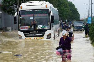 Dự báo bão gây mưa lớn cho miền Trung, Tây Nguyên từ ngày mai