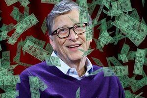 Chia 10 USD cho mỗi người trên trái đất, Bill Gates vẫn thừa 30 tỉ USD